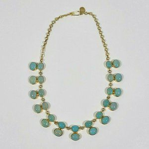JULIE RUBANO Blue Vintage Necklace